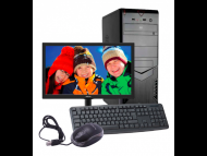 SecamCCTV Računar A-Comp Komplet, Intel Celeron Dual Core/4GB/320GB/DVD/Monitor Asus/Tast+Mis