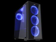 MS INDUSTRIAL Kućište DARK SHADOW Midi Tower, Micro-ATX, Mini-ITX, ATX,