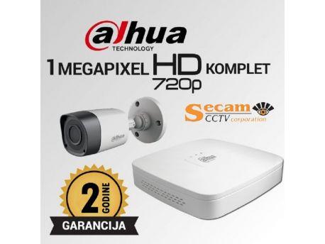 DAHUA Dahua komplet video nadzor sa 3xHD kamere