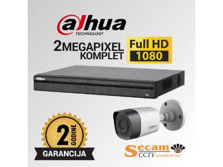 DAHUA Dahua komplet video nadzor sa 2x Full HD kamere