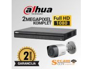 DAHUA Dahua komplet video nadzor sa 2x Full HD kamere