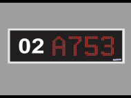 SecamCCTV LMX-DIS 18 LED dot matrix display